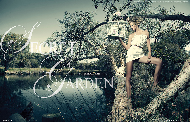 Secret Garden / Tiiu Kuik by Jessica Yeh / Tantalum Magazine issue 04