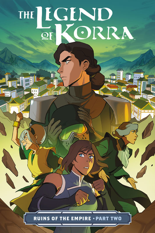 The Legend of Korra - Ruins of the Empire Part #1-2 (2019)