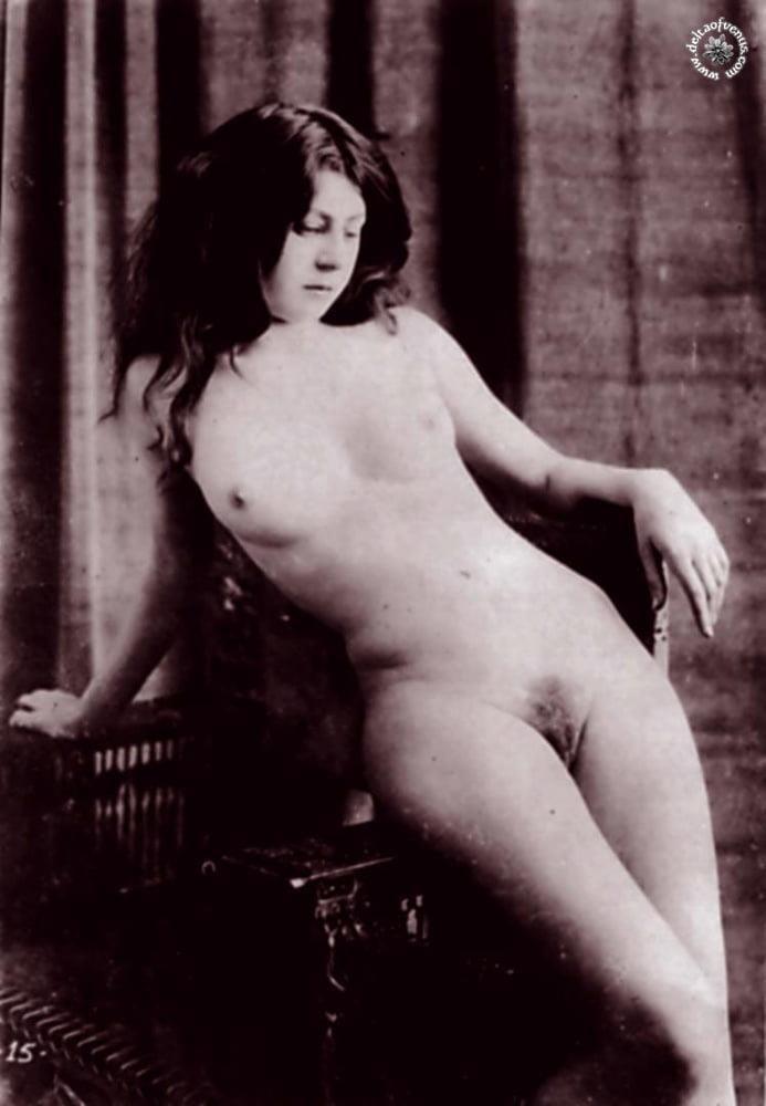 Vintage hairy nude-4206