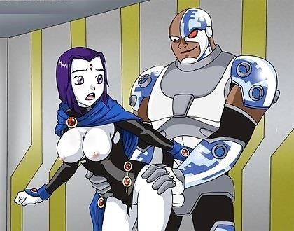 Teen titans terra porn comic-5557