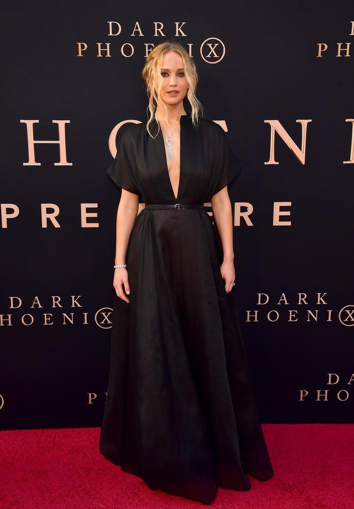 """Jennifer Lawrence – """"Dark Phoenix"""" premiere in Hollywood 4-6-2019"""