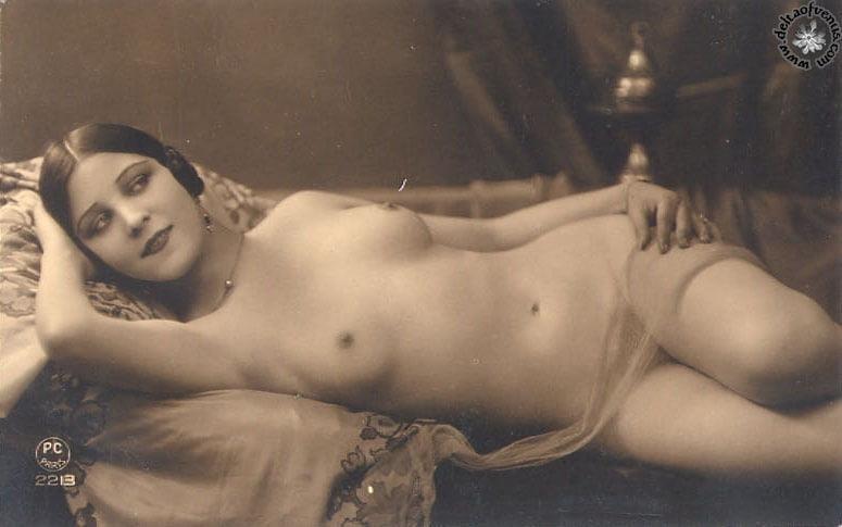 Vintage hairy nude-2781