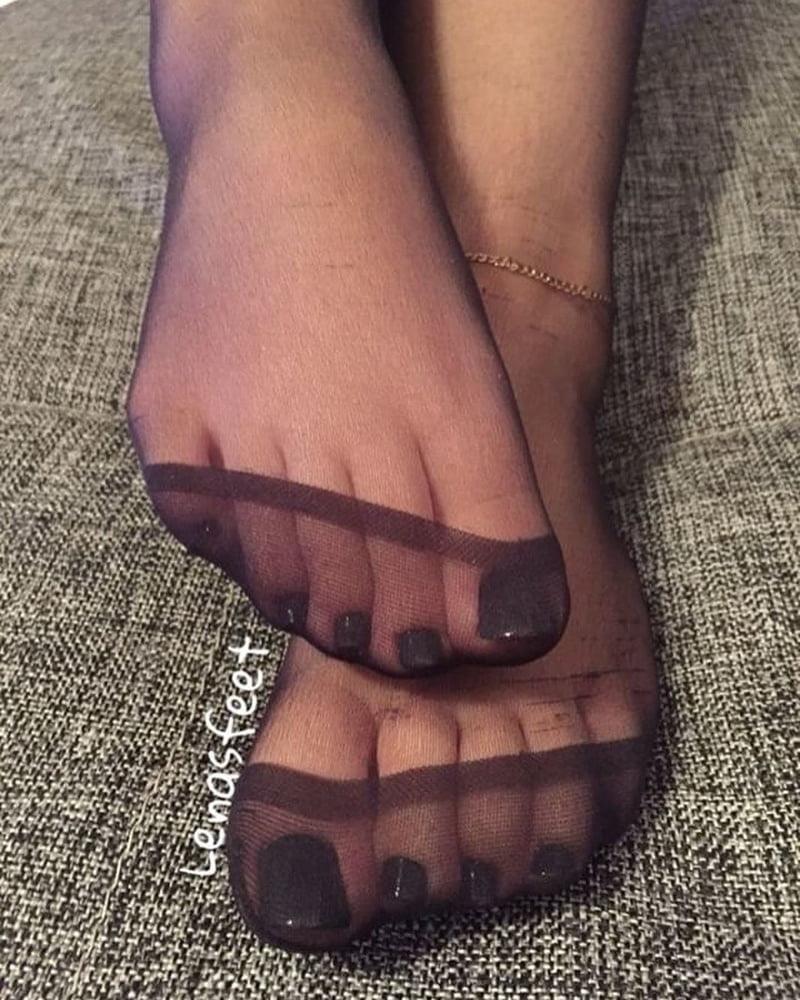 Nylon feet porn hd-2620