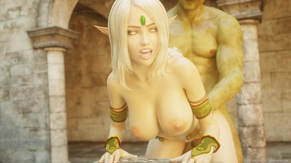 Sexy anime elf girl-9544