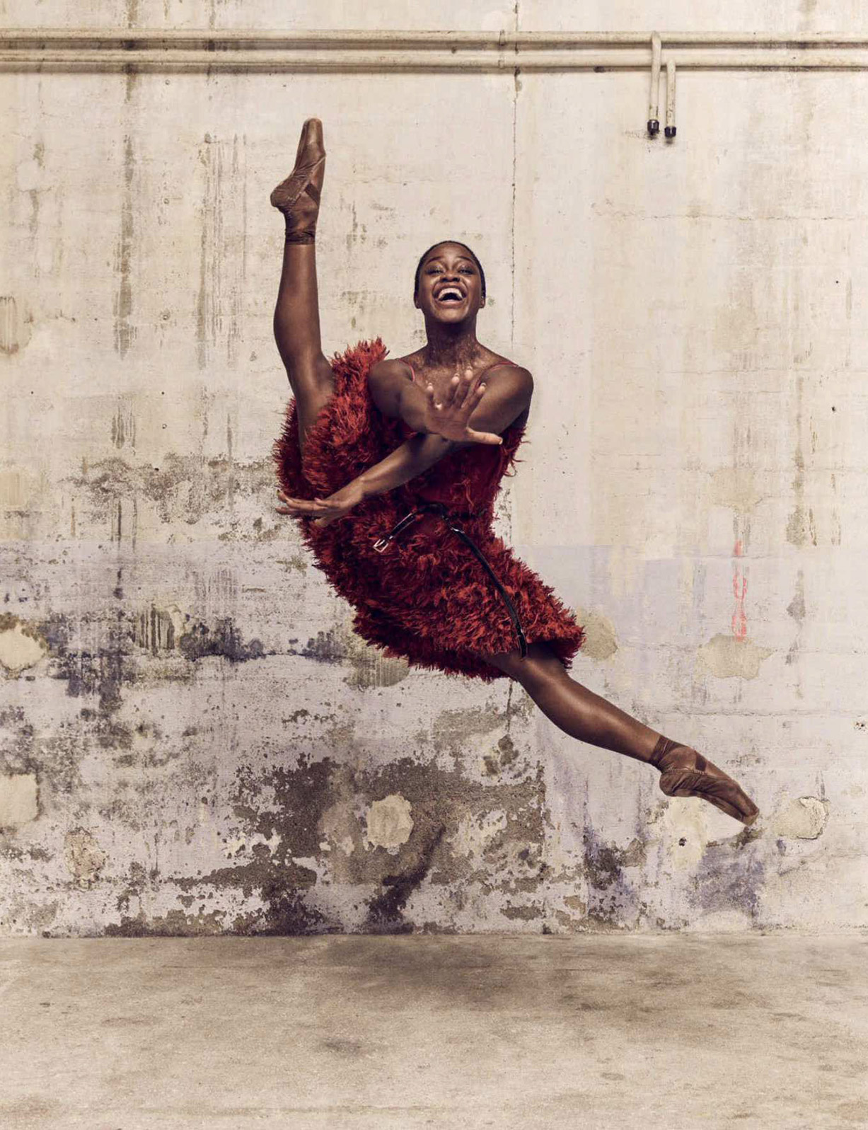 Magic Moves / Marie-Agnes Gillot and Michaela DePrince by Luigi Murenu and Iango Henzi / Vogue Germany july 2018