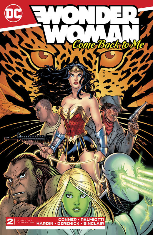 Wonder Woman - Come Back to Me #1-6 (2019-2020) Complete