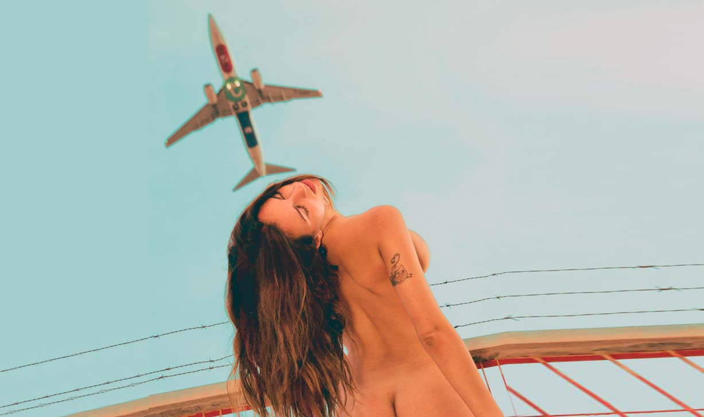 Ibiza Naked Spotting / Lara Perez nude by Manuel Alkhaide