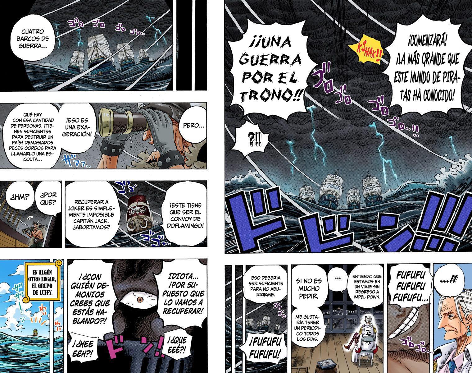One Piece Manga 801-802 [Full Color] [Dressrosa] W9iAUWCA_o