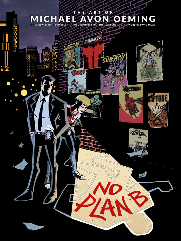 No Plan B - The Art of Michael Avon Oeming (2017)