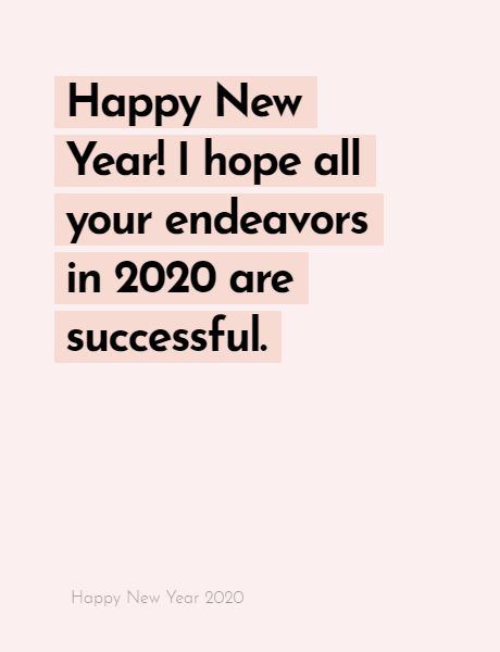 Happy New Year 2020 Wishes Quotes, Happy new year inspiration night 2020, wishes, messages & greetings 5