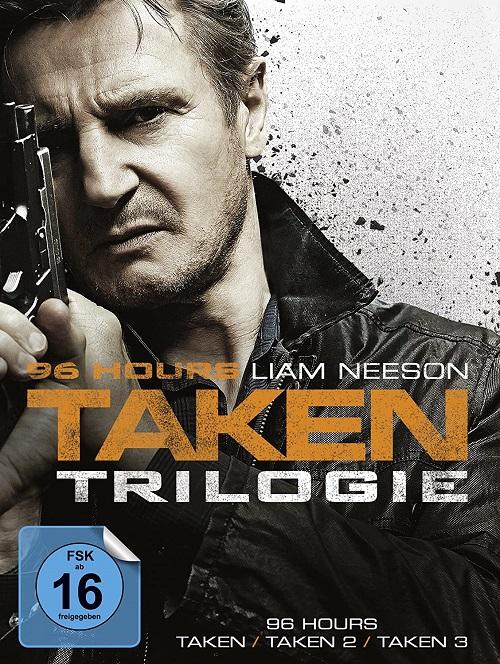 Uprowadzona / Taken (2008-2014) COLLECTION.MULTi.1080p.BluRay.x264.DTS-DENDA / LEKTOR i NAPISY PL + m1080p