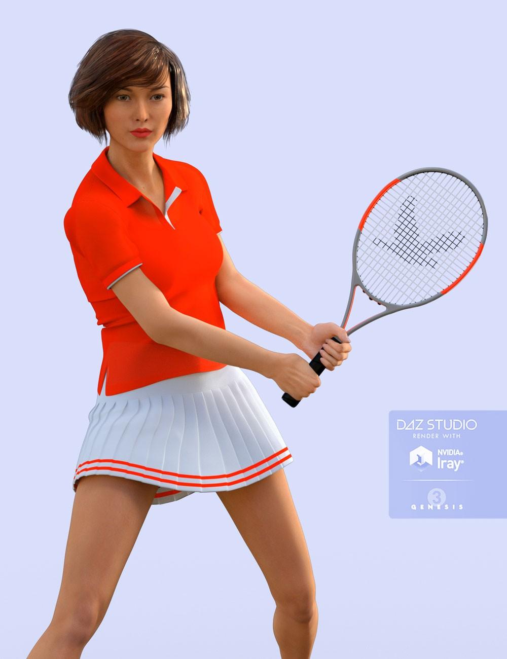 H&C Tennis Wear Set for