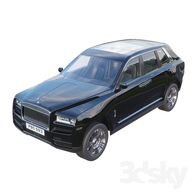 Rolls-Royce Cullinan 2019