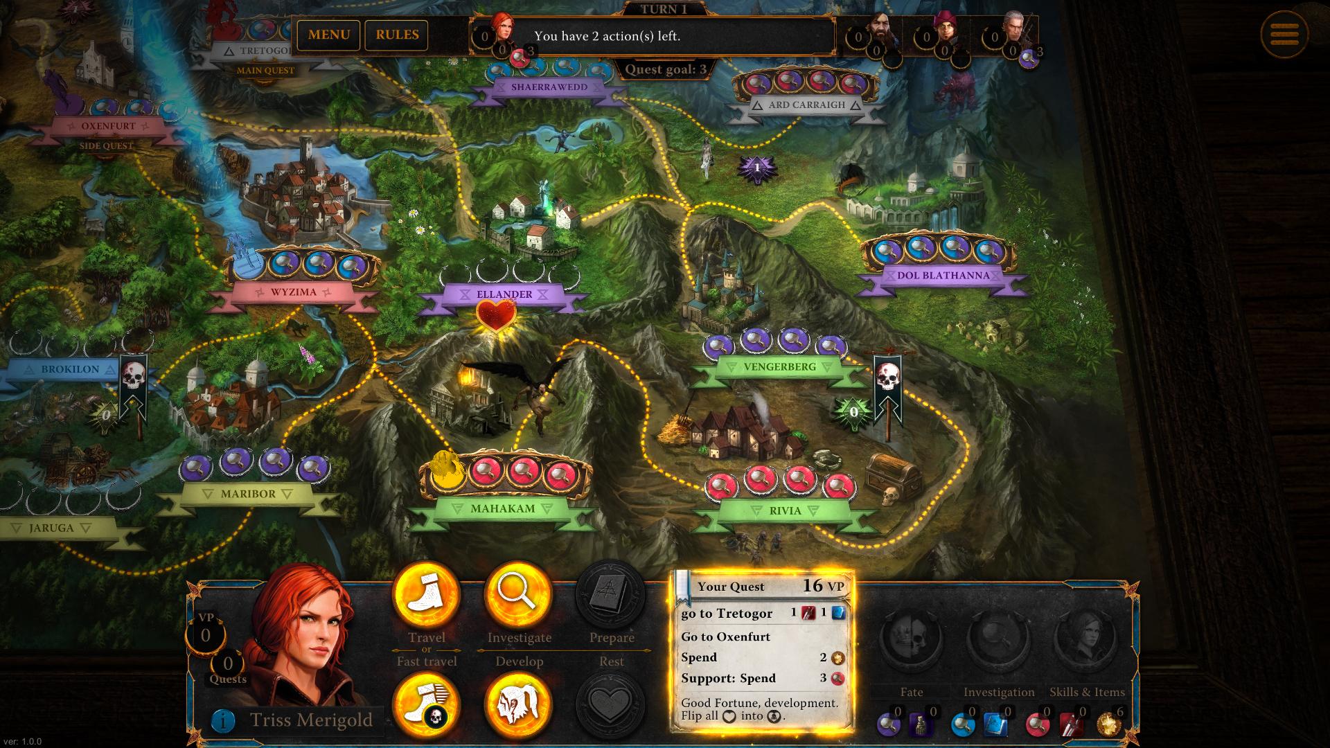 The Witcher Adventure Game Captura 3