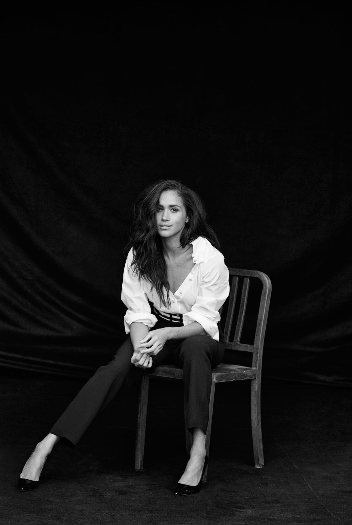 Меган Маркл на страницах журнала Vanity Fair / фото 04