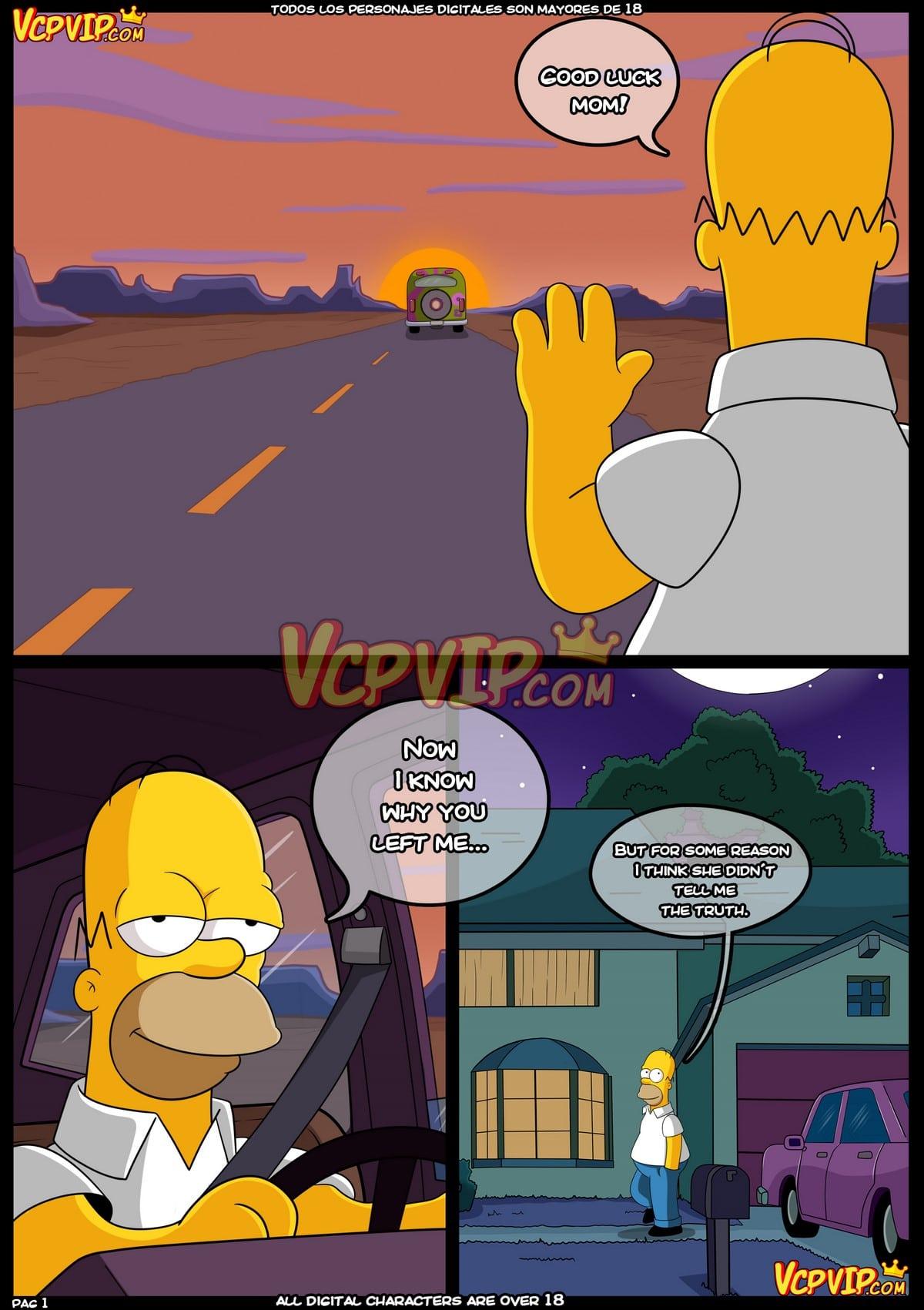 (English) Simpsons: Mum (Original VCP) - 1