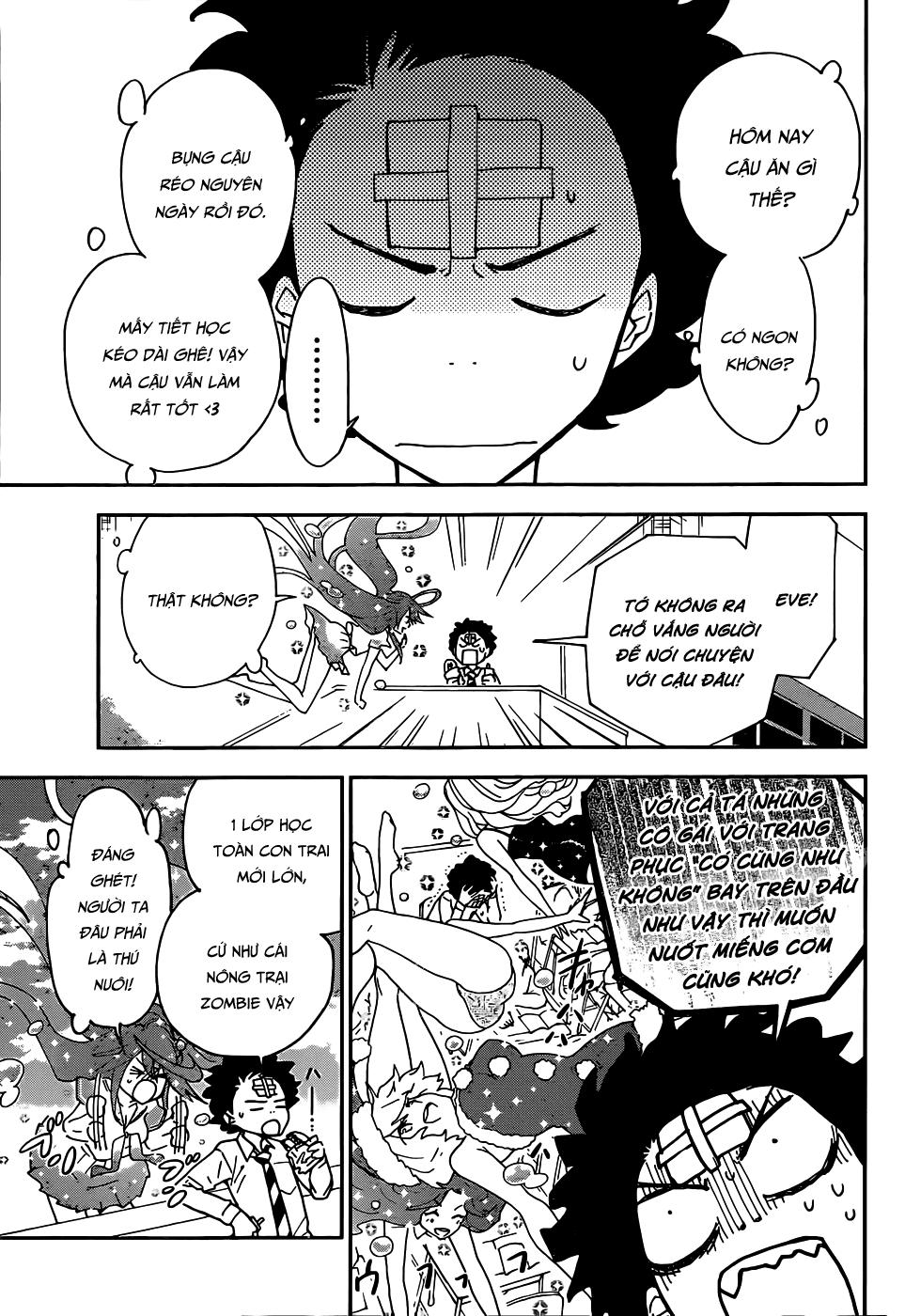 Hatsukoi Zombie Chapter 2 - Trang 14