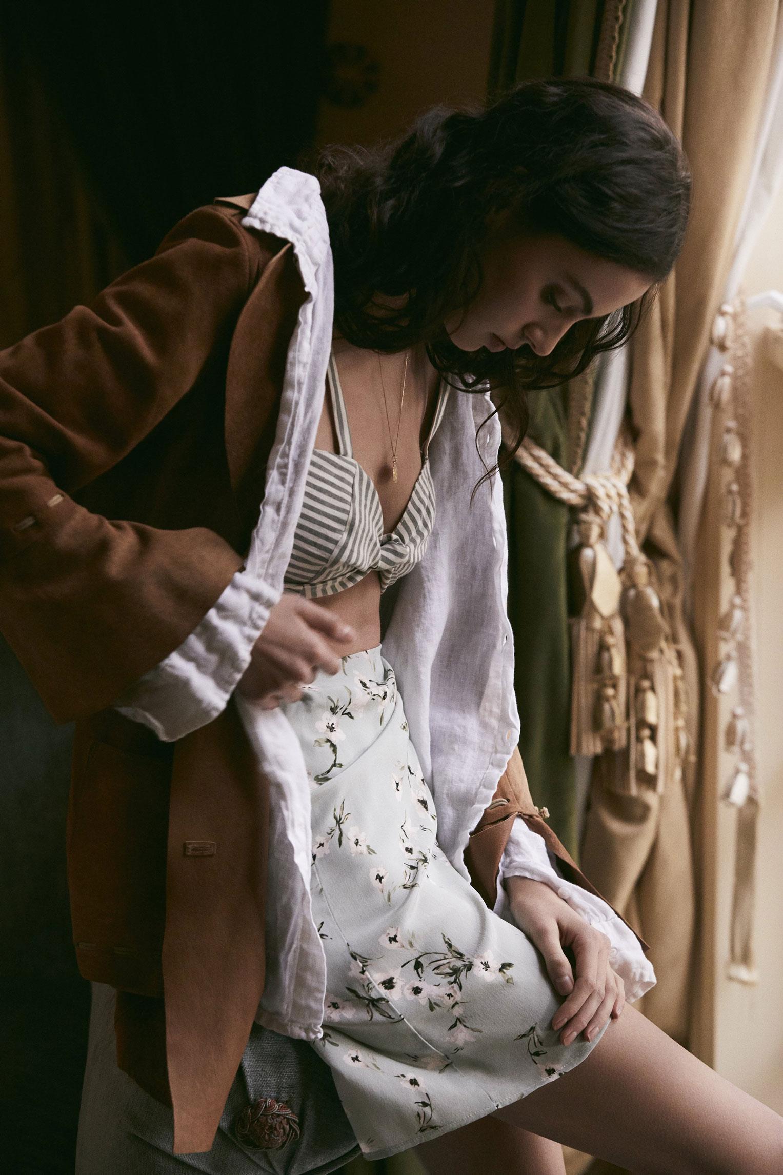 Swantje Paulina by Adam Franzino / Stone Cold Fox spring 2018