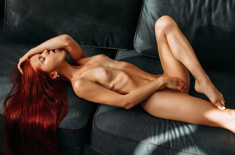 Katya Dubrovskaya nude by Alexey Trifonov