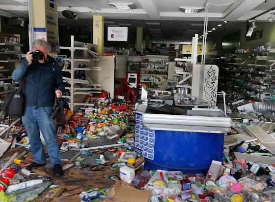 Разорённые магазины