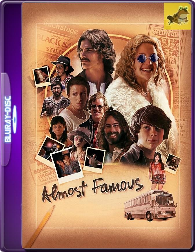 Casi Famosos (2000) Brrip 1080p (60 FPS) Latino / Inglés