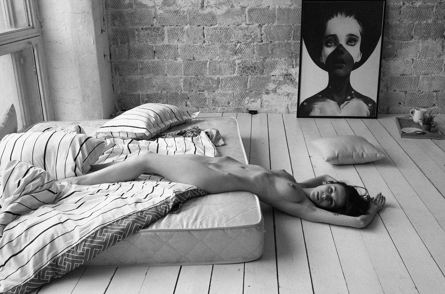 Eva Chekhova nude by Alexey Trifonov