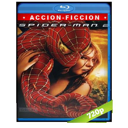 descargar El Hombre Araña 2 720p Lat-Cast-Ing 5.1 (2004) gartis