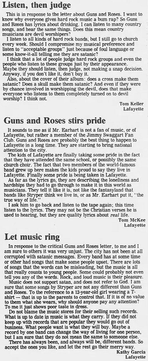 1989.02.21/04.10 - Journal and Courier (Lafayette, IN.) - Readers' letters/Debate on GN'R GeqWgNNU_o