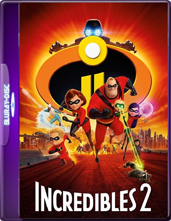 Los Increíbles 2 (2018) Brrip 1080p (60 FPS) Latino