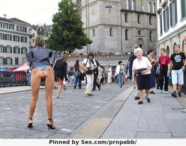 Buttplug in public pics-1583