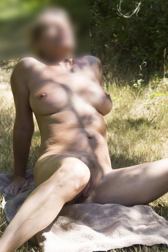 Milf naked in public-7440