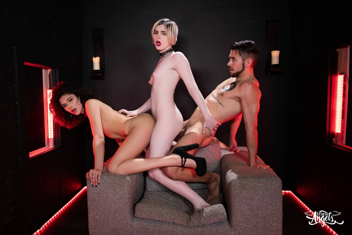 [TransAngels.com] Alisia Rae & Ella Hollywood / Bitch Craft Part 3 (03-07-2020) [2020 г., Transsexuals, Shemale, Anal, Ass Licking, Cumshots, Hardcore, Shemale on Shemale, SiteRip]