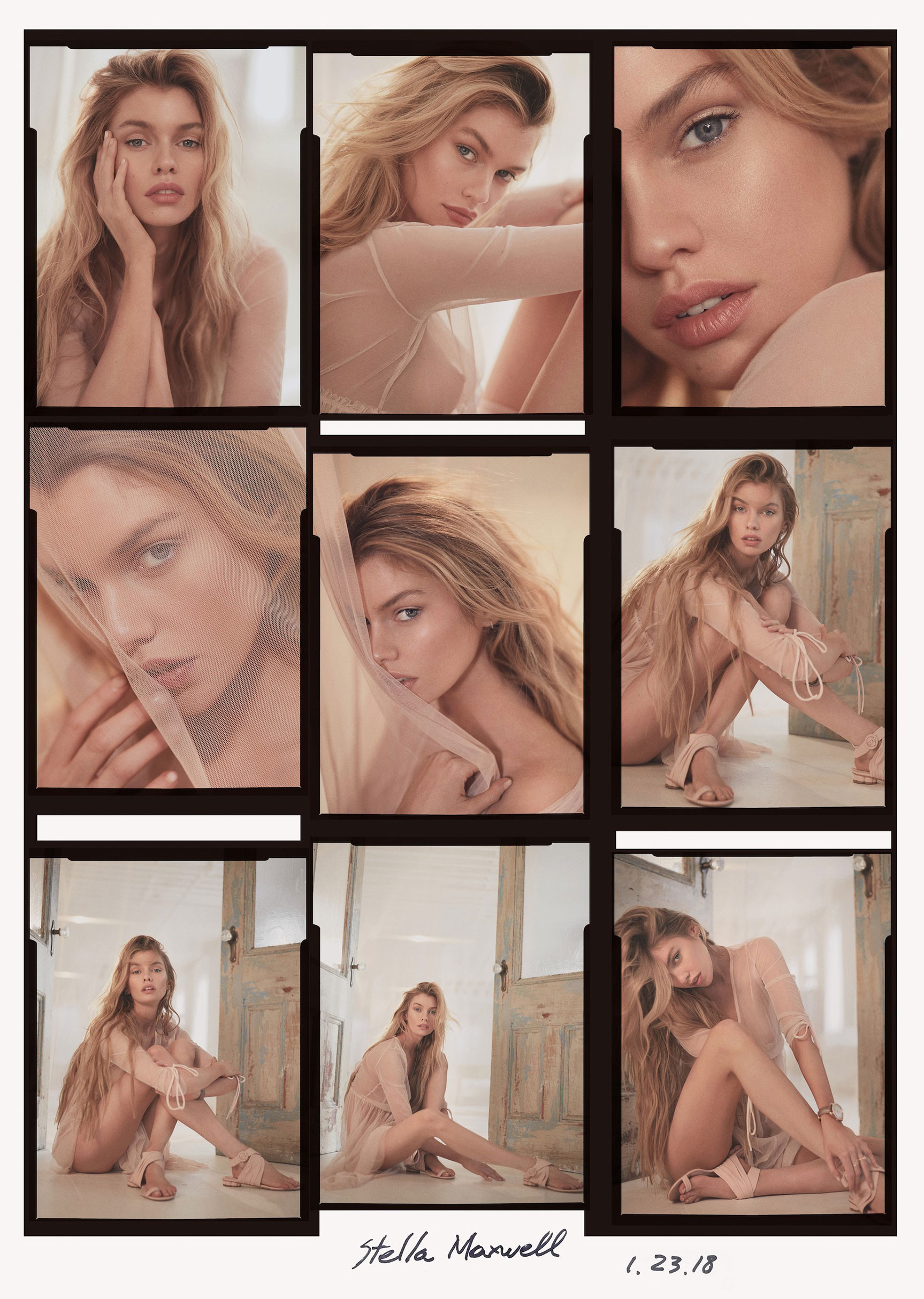 Stella Maxwell by Greg Swales - Issue Magazine april 2018