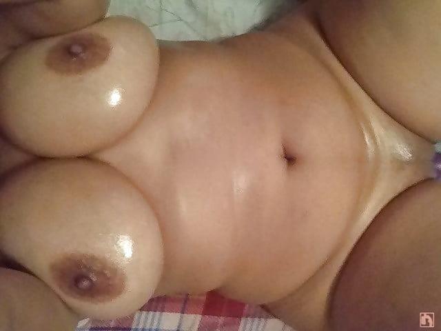 Ebony naked selfie-9524
