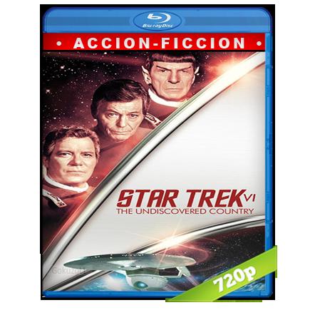 Viaje A Las Estrellas 6 La Tierra Desconocida (1991) BRRip 720p Audio Trial Latino-Castellano-Ingles 5.1