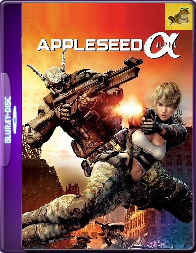 Appleseed: Alpha (2014) Brrip 1080p (60 FPS) Latino / Inglés