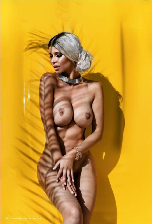 sexy Micaela Schäfer nude by Jörg Otto