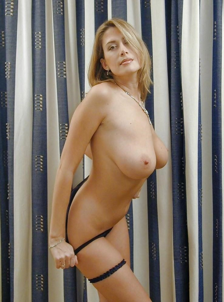 Mompov hot big tits blonde milf in first porn-9965