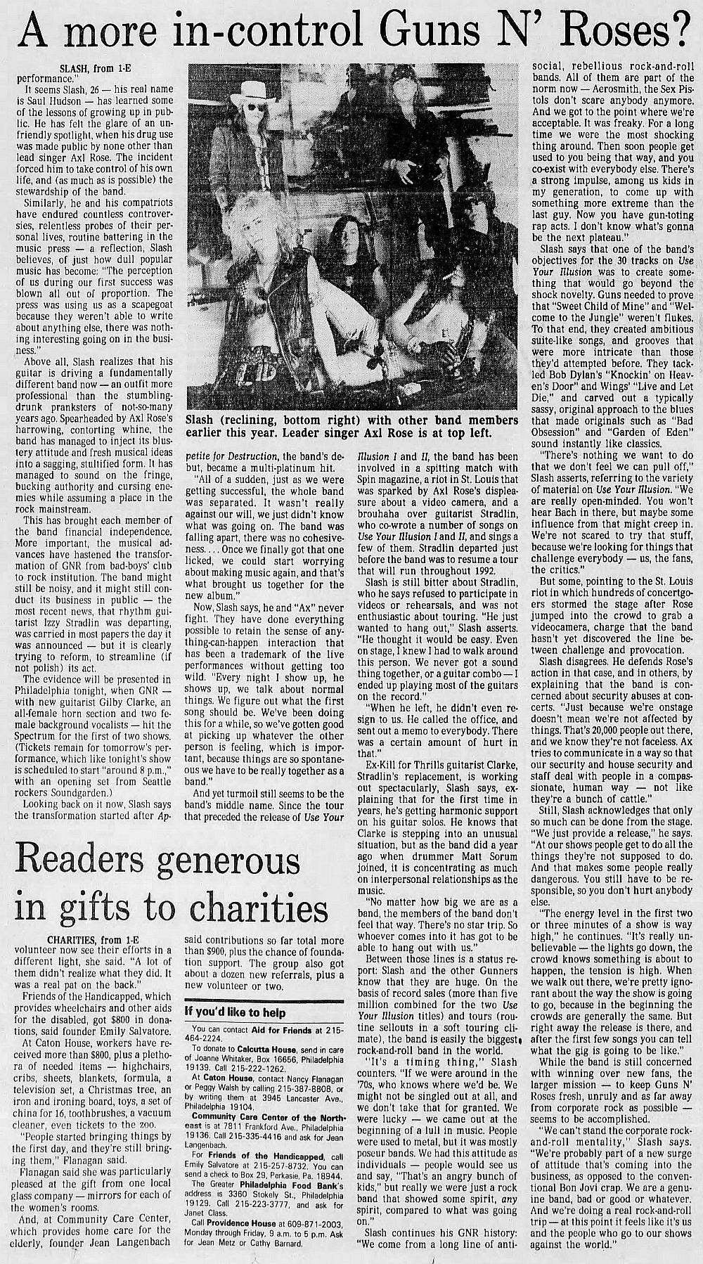 1991.12.16 - The Philadelphia Inquirer - A more in-control Guns N' Roses? (Slash) MkhPpEqb_o