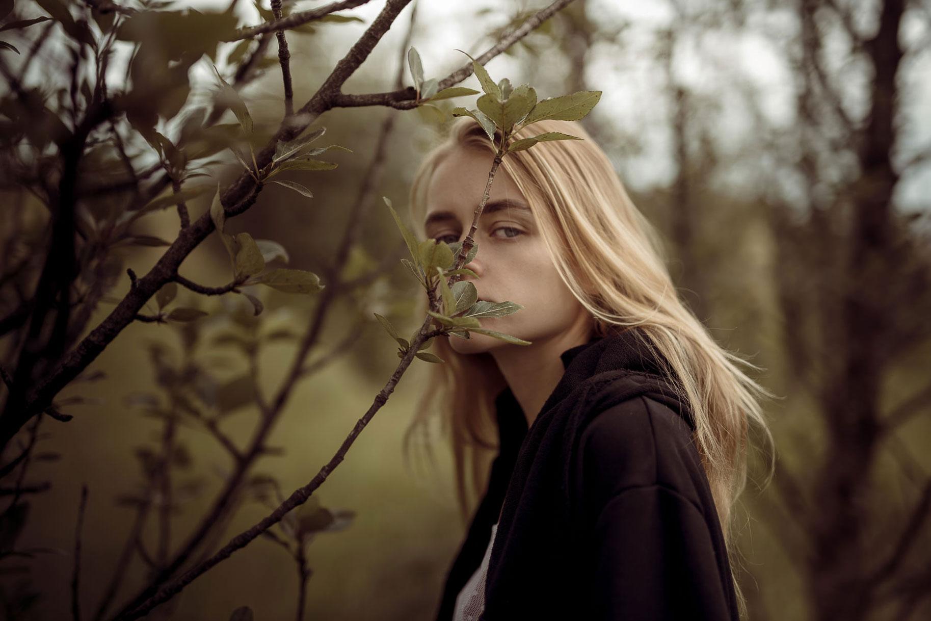 Яна Нагорняк гуляет по лесам и полям Исландии / фото 07