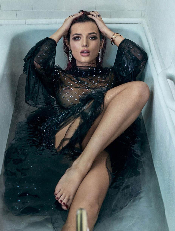 неидеальная Белла Торн / Bella Thorne by Michael Schwartz - GQ Mexico october 2017