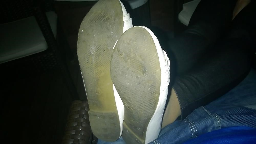 Lesbian foot fetish nylon-1571