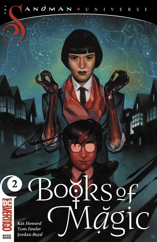 Books of Magic Vol.3 #1-9 (2018-2019)