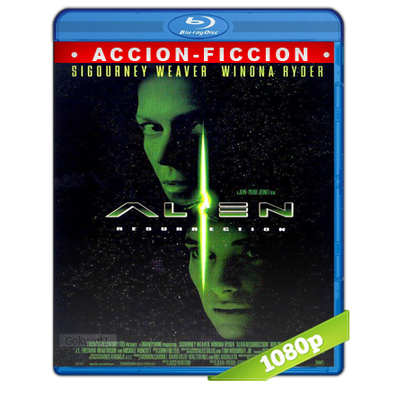 Alien 4 La Resurreccion (1997) BRRip Full 1080p Audio Trial Latino-Castellano-Ingles 5.1