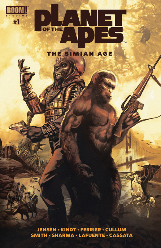 Planet of the Apes - The Simian Age 001 (2018)