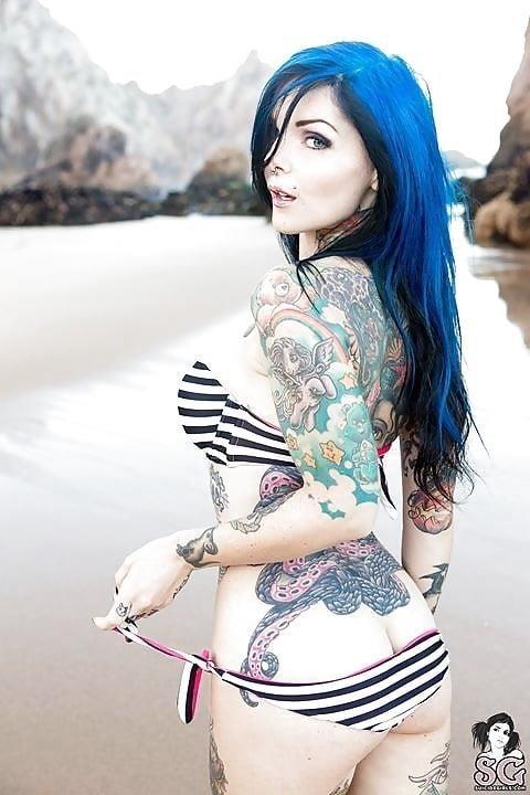 Sexy tattoo girls nude-8208