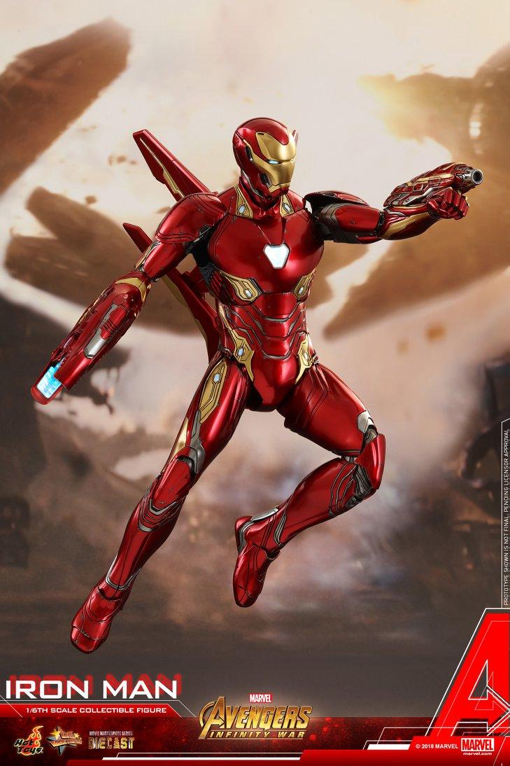Avengers - Infinity Wars - Iron Man Mark L (50) 1/6 (Hot Toys) GfuMwhl3_o