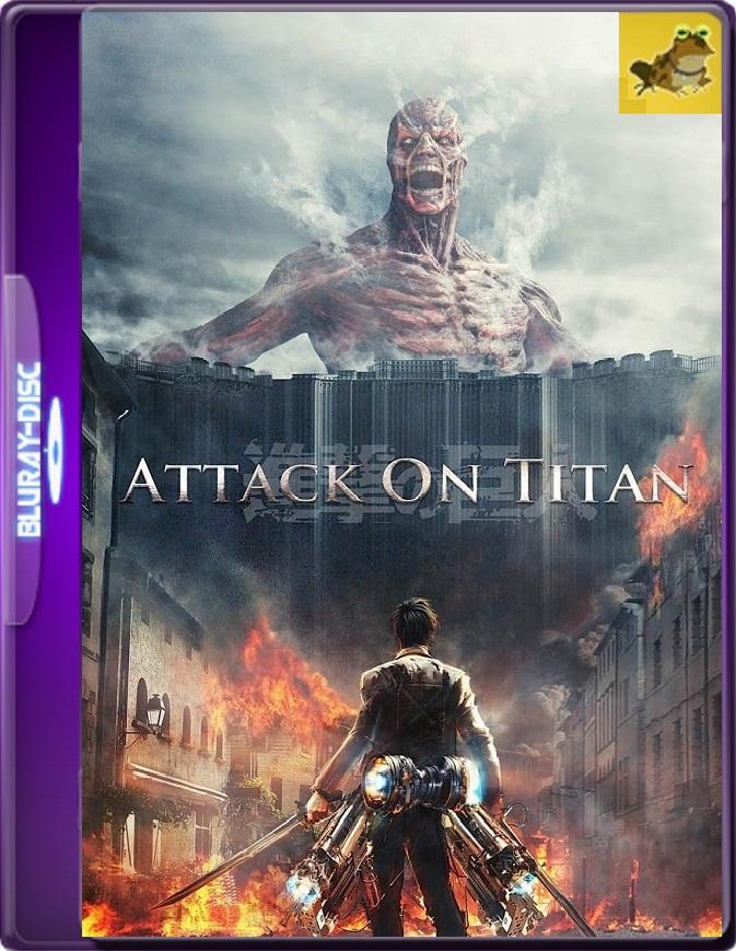 Attack On Titan: The Movie (2015) Brrip 1080p (60 FPS) Japonés Subtitulado