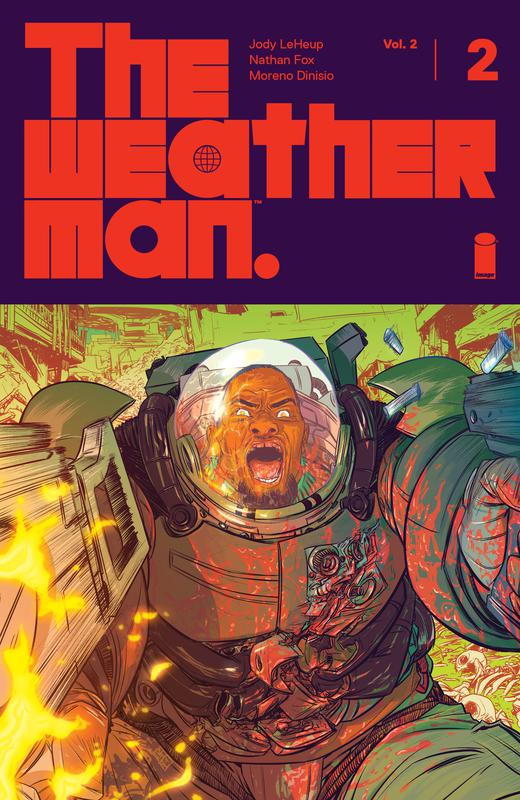The Weatherman Vol.2 #1-6 (2019-2020)