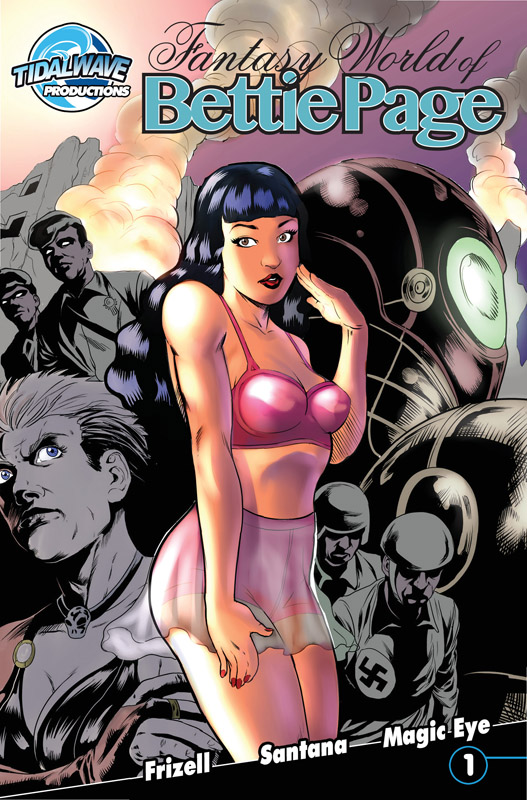 Fantasy World of Bettie Page #1-4 (2016-2018) Complete